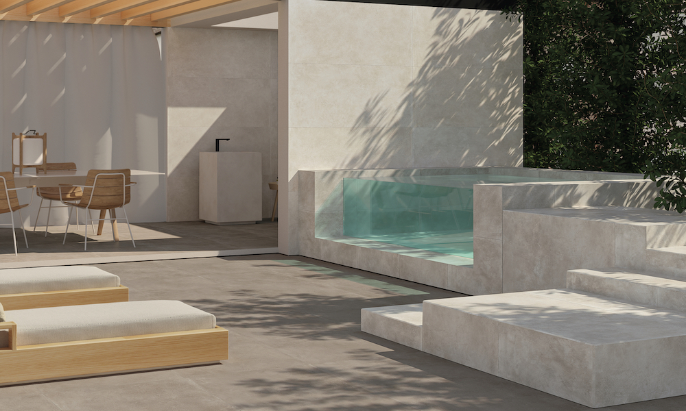 DESIGNER OUTDOOR AREAS BY CERAMICHE PIEMME