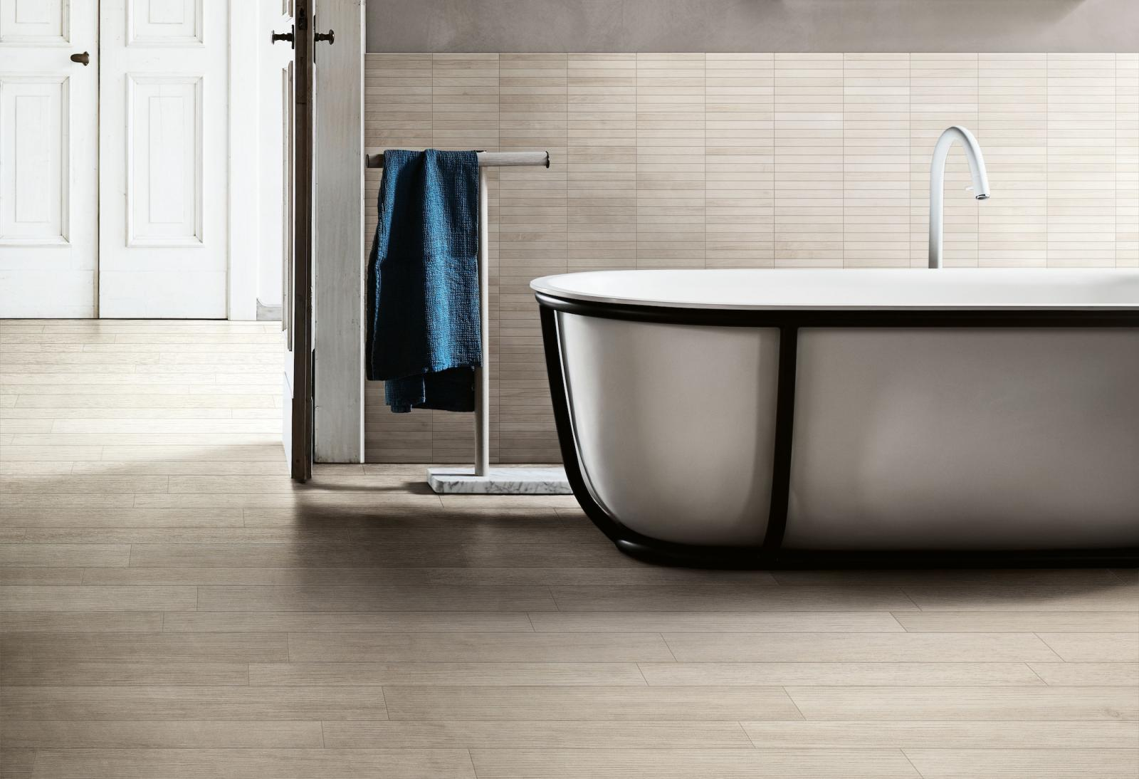 BATHROOM-KITCHEN TRENDS: TIMELESS, EASY WOOD
