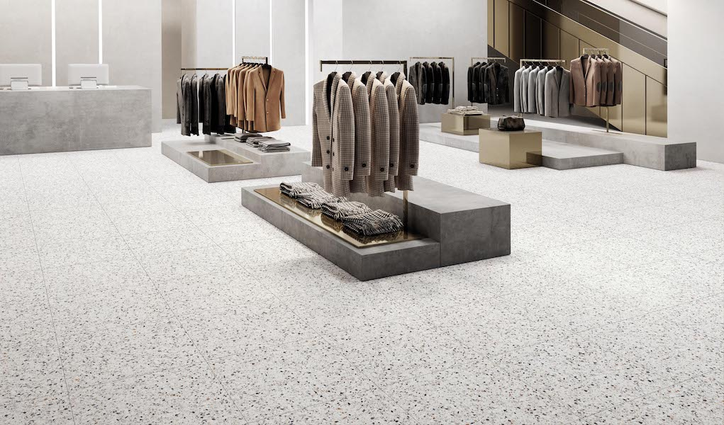 MADE IN ITALY FOR RETAIL FLOORS AND SURFACES